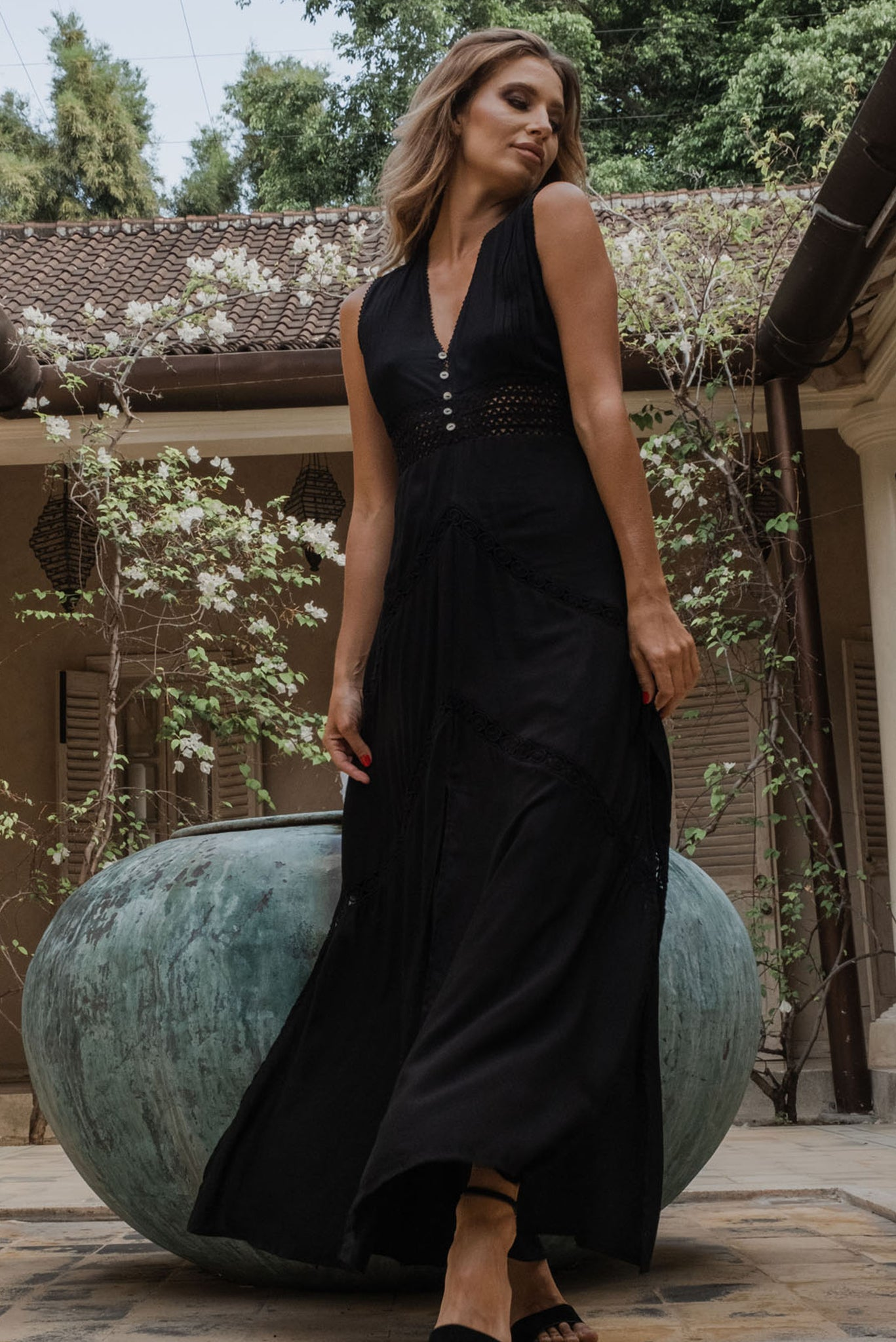 Riviera Maxi Dress - uma and leopold