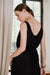 uma and leopold grace mini dress black side