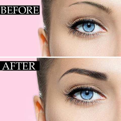 Gently Press The Sponge In Eyebrow Powder Printed On Eyebrows You Can Quickly Fabricate Synophrys