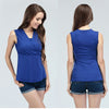 Vest nursing tank top