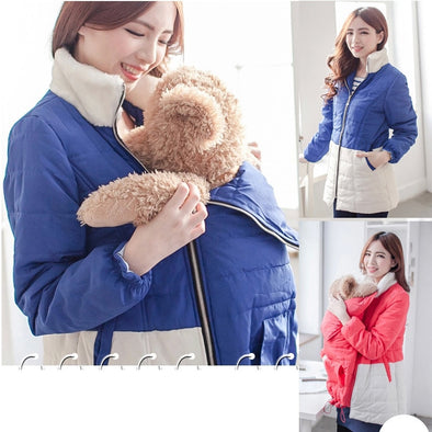 Maternity feeding coat 2 in 1