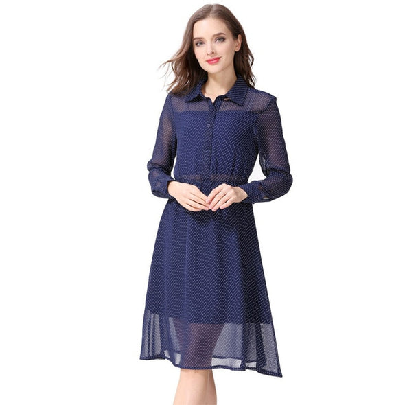 Long Sleeve Nursing Dress