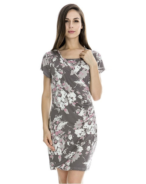 Fashion Maternity Clothes Summer Nursing Dress