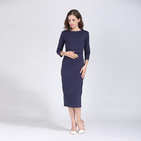 Party maternity dress
