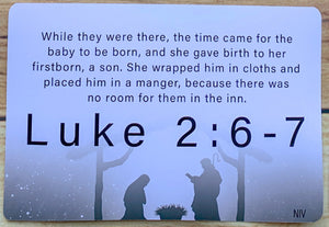 Christmas Scripture Cards (Singles)