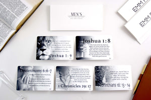 Men's Scripture Cards | 10-Pack