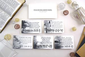 Peace Beyond Understanding Scripture Cards | 10-Pack
