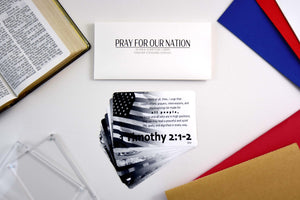 Pray For Our Nation Scripture Cards | 10-Pack