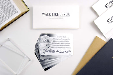 Walk Like Jesus Scripture Cards | 10-Pack
