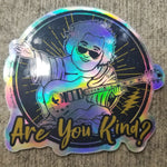 Are You Kind? Jerry Buddha Sticker 2-Pack