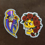 Bones Crew 2.0 Sticker 2-Pack