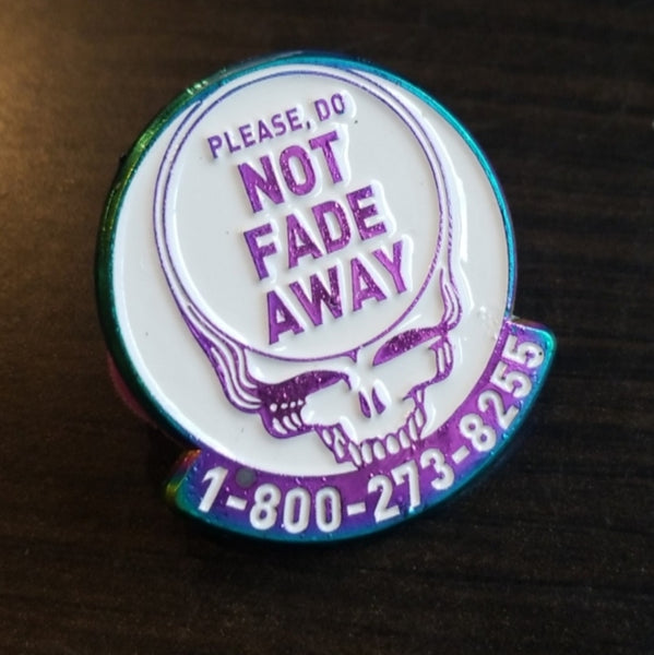 Save Your Face Enamel Pin