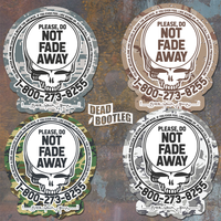 Save Your Face Suicide Prevention Sticker Military 4-pack