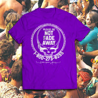 Save Your Face - Purple/White - Suicide Prevention t-shirt