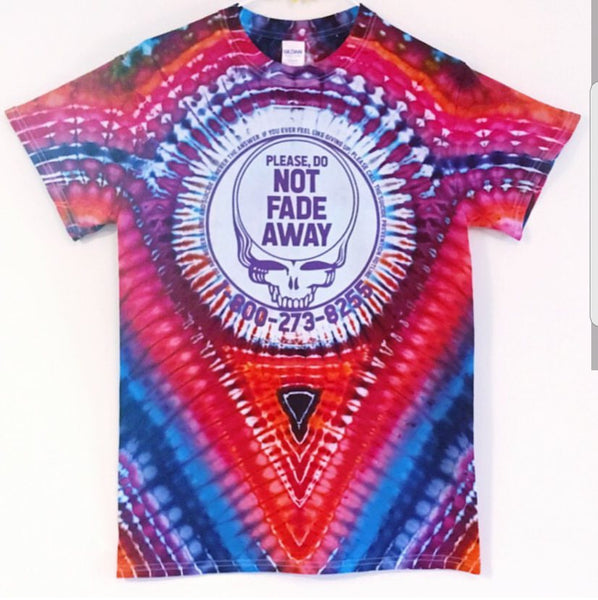 Save Your Face - Tie Dye - Suicide Prevention t-shirt