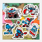 Smurf & Co. 7-count Sticker Pack