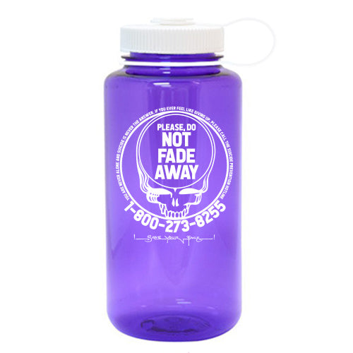 Save Your Face 32oz Wide Mouth Nalgene Bottle