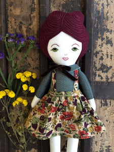A Maker's Burrow Heirloom Doll
