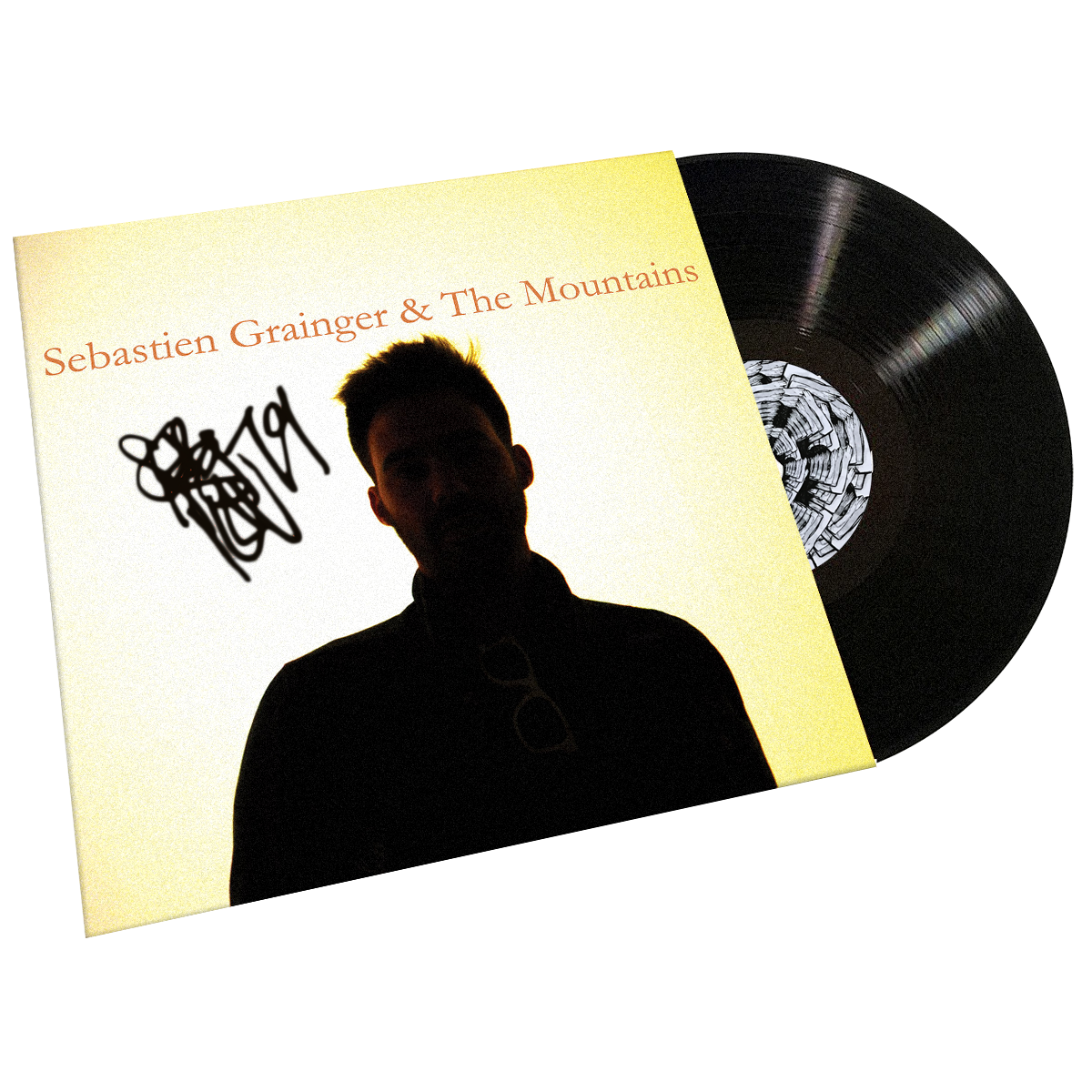 "Sebastien Grainger - ""Sebastien Grainger & The Mountains"" - LP - AUTOGRAPHED!"
