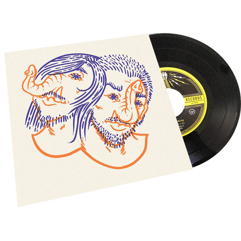 "Death From Above 1979 - Third Man Records - ""Heads Up Demos"" -  7"" - OATMEAL"