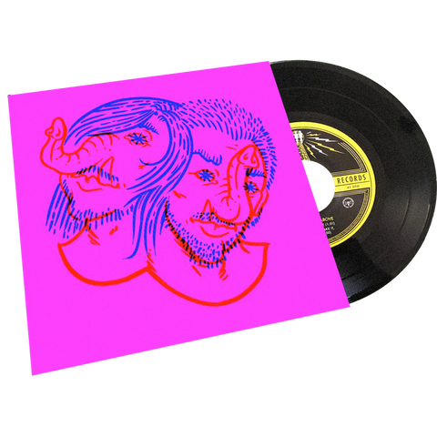 "Death From Above 1979 - Third Man Records - ""Heads Up Demos"" -  7"" - PINK"
