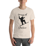Drug of Choice Snowboarder T-Shirt