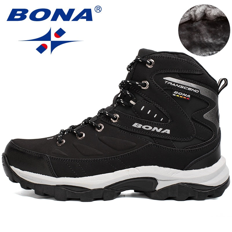 BONA Winter Men's Mountain Hiking Shoes / Boots