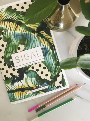 SIGÁL Coloring Book - shopsigal