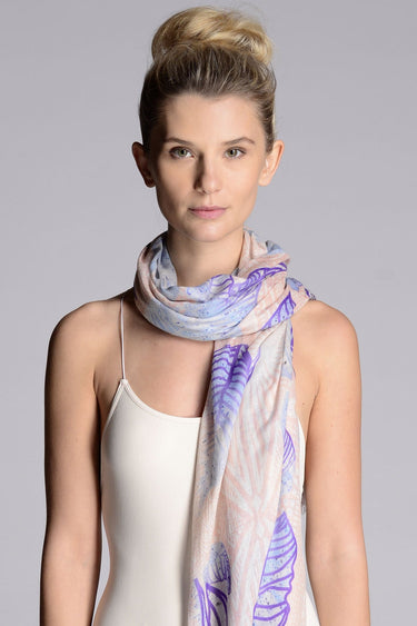 Tropitribal Blush Scarf