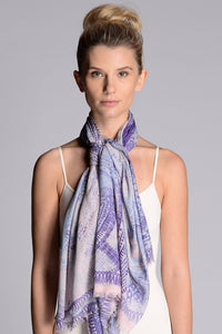 Diablo Indigo Blush Scarf - shopsigal
