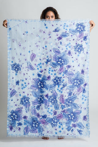 Purple Queen Sarong Scarf - shopsigal