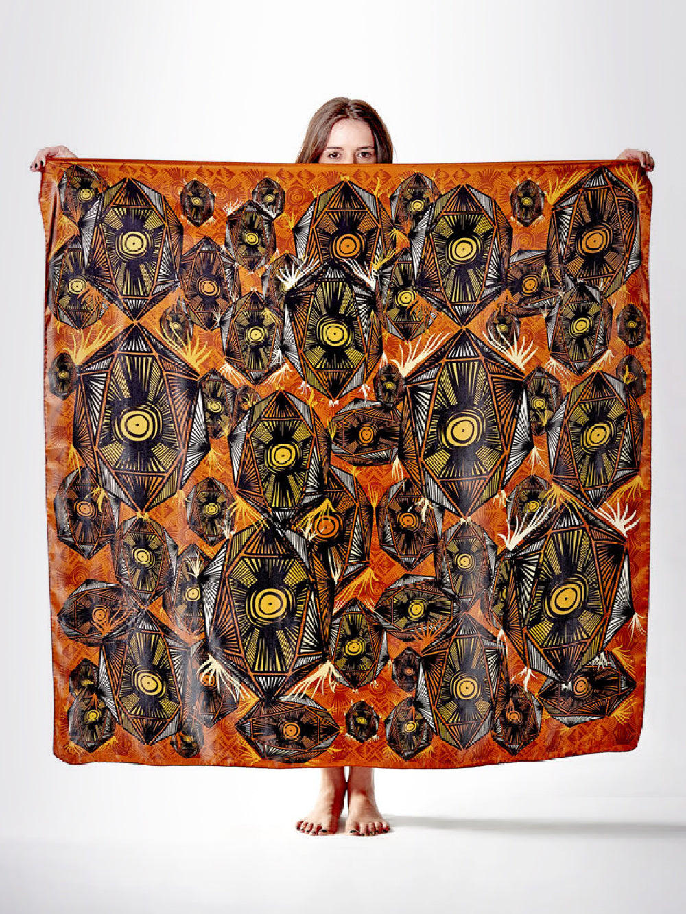 Nativa Silk Scarf - shopsigal
