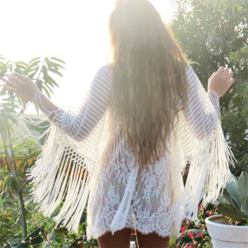 Tassel Beach Cover-up