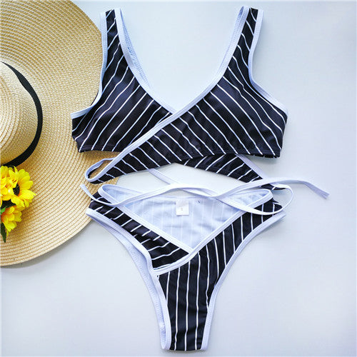 Cross Bikini - Two pieces