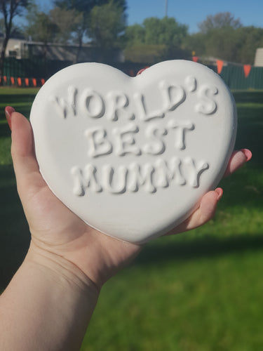 Worlds best Mummy Plaque