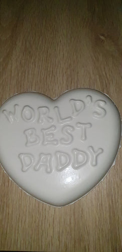 Worlds best Daddy Plaque