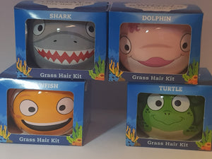 Ocean Animals Grass Hair Kit