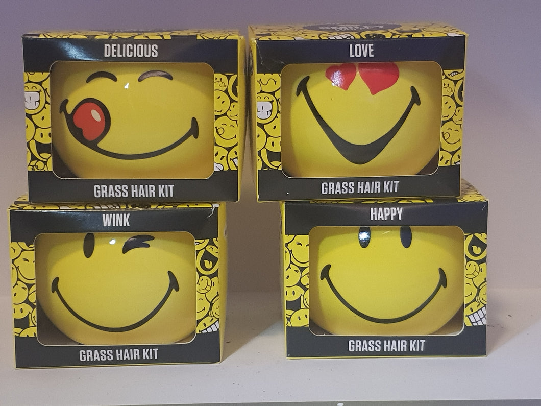 Smiley Grass Hair Kit