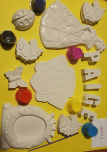 "Kiddies ""So Bored"" Plaster Painting Pack"