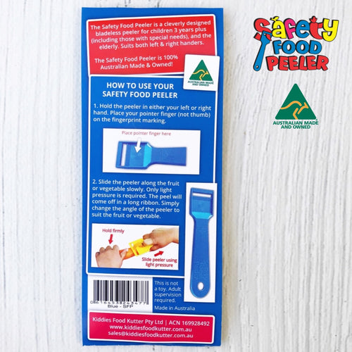 Safety Food Peeler - Single Pack