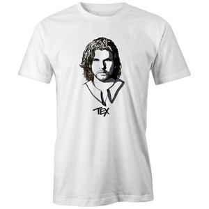 Tex Perkins High Tees hand drawn t shirt