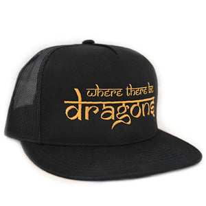 Dragons Embroidered Trucker Hat