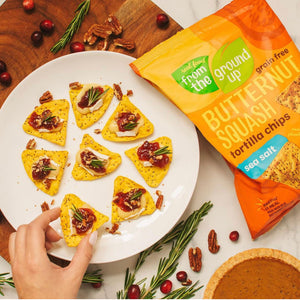Butternut Squash Tortilla Chips From The Ground Up