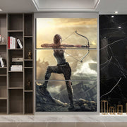 Lara Croft Tomb Raider Video Game Poster