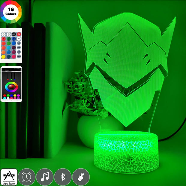 Overwatch LED Genji Night Light - Gapo Goods