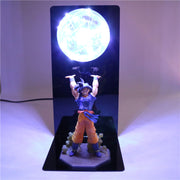 Dragon Ball Z Lamp Goku Strength Bombs