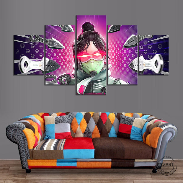 Apex Legends Wraith HD Printed Canvas