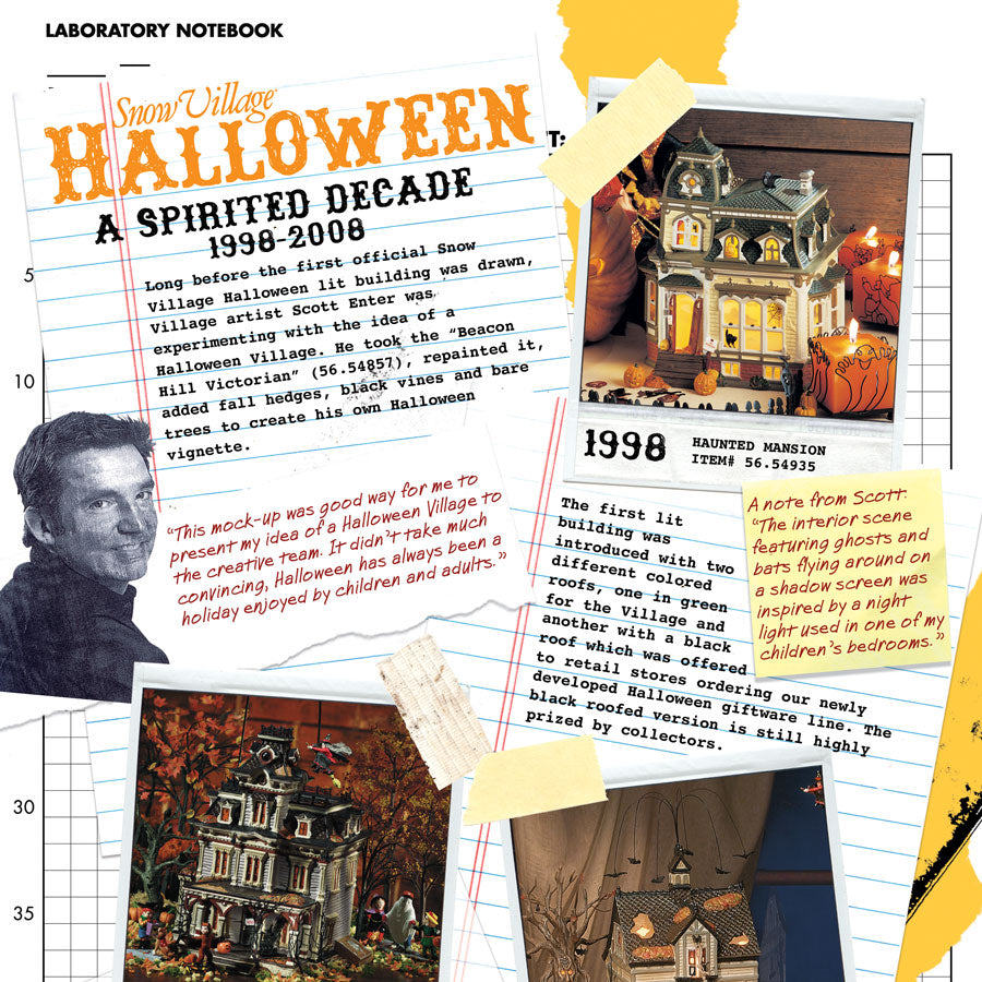 The History of Snow Village Hallowen