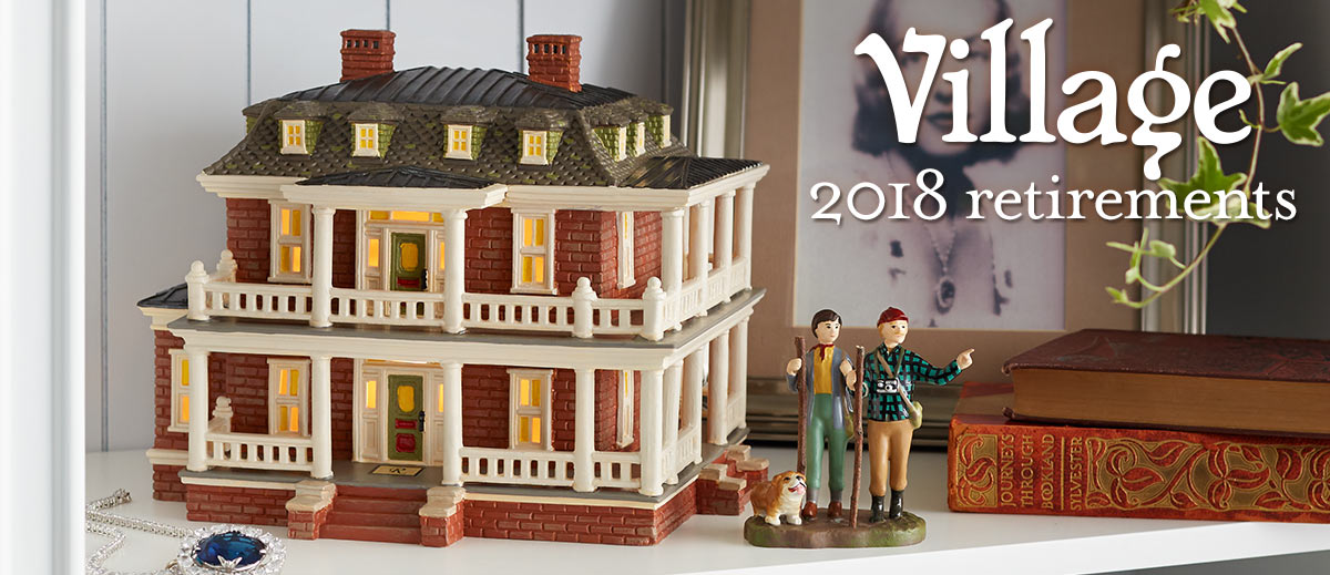 092dfe879 2018 Village Retirements – Department 56 Official Site