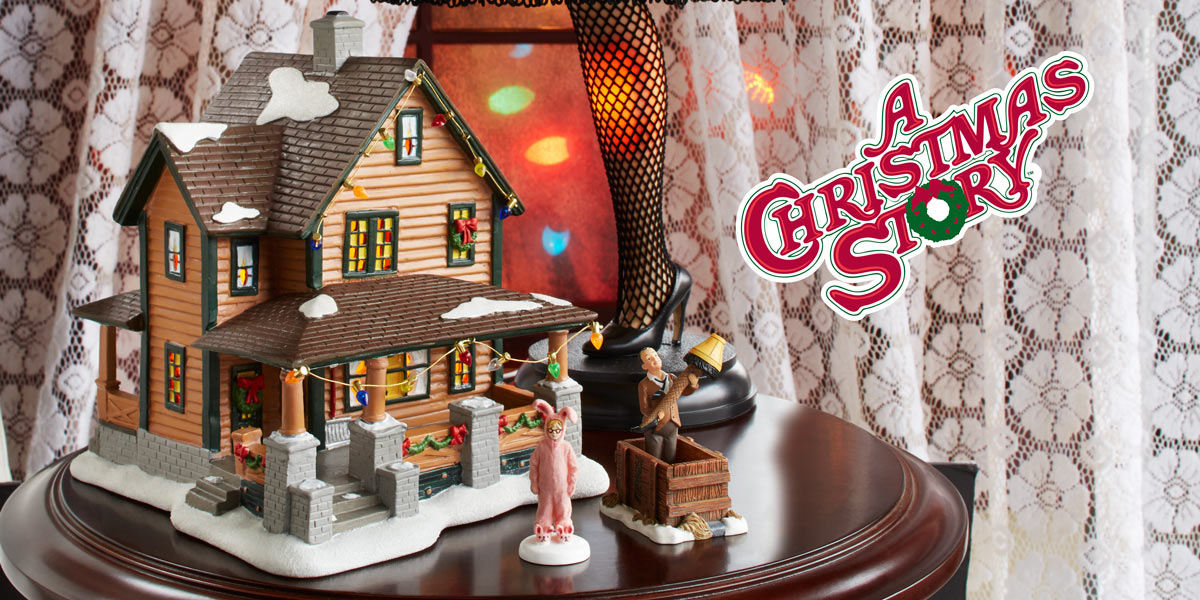 A Christmas Story Village